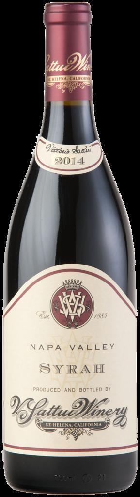 V. Sattui Winery Napa Valley Syrah Bottle Preview