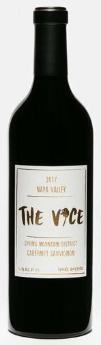 The Vice, Cabernet Sauvignon, Spring Mountain, Napa Valley Bottle