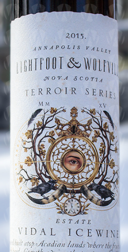 Lightfoot  & Wolfville Vineyards Estate Vidal Icewine