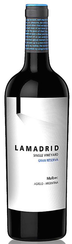 Lamadrid Estate Wines Lamadrid Gran Reserva Malbec Bottle Preview