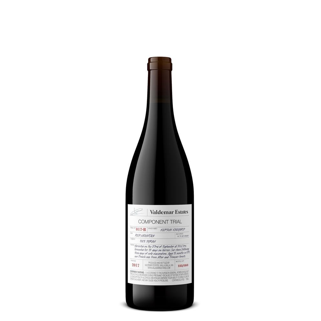 Valdemar Estates Klipsun Vineyard Syrah Bottle Preview