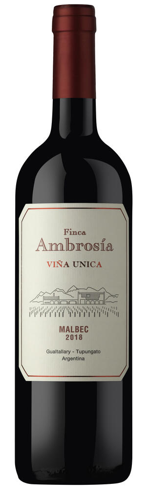 Finca Ambrosia Vina Unica Malbec Bottle Preview