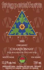 Frogpond Farm Organic Winery Chardonnay