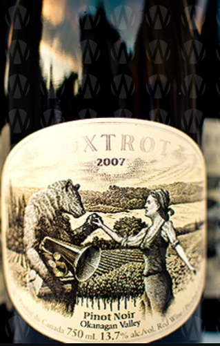 Foxtrot Vineyards Pinot Noir