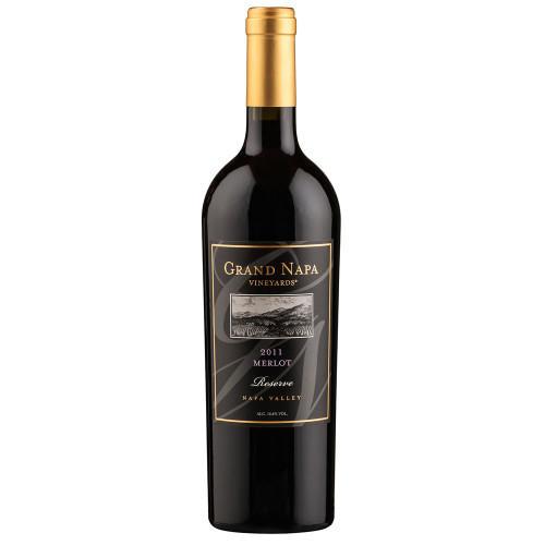Grand Napa Vineyards MERLOT Bottle Preview