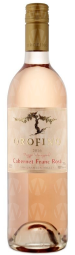 Orofino Vineyards Pozza Vineyard Cabernet Franc Rosé