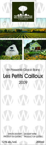 Vignoble Les Petits Cailloux Vin Passerillé Glacé Blanc