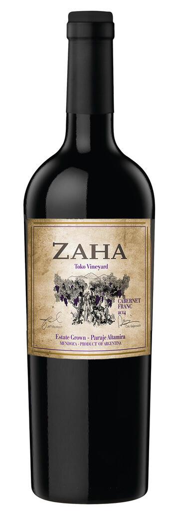Bodega Teho Zaha Cabernet Franc Bottle Preview