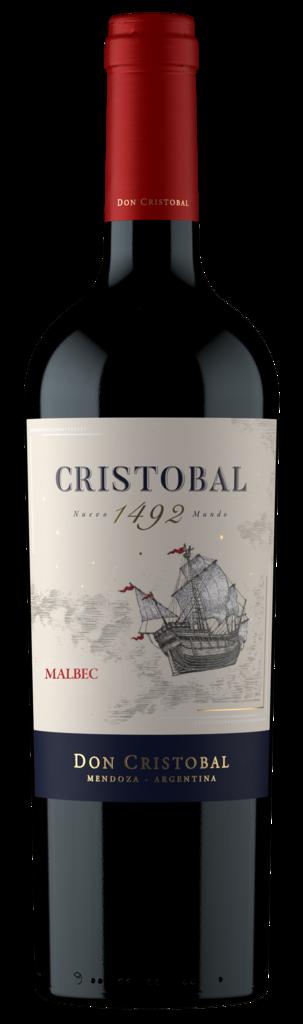Cristobal 1492 Malbec Bottle