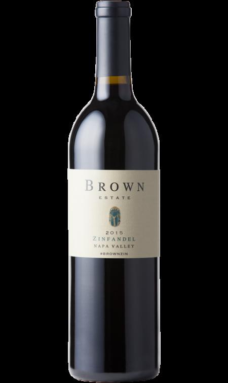 Brown Estate Vineyards Napa Valley Zinfandel Bottle Preview