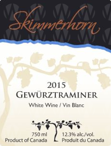 Skimmerhorn Winery & Vineyard Gewürztraminer