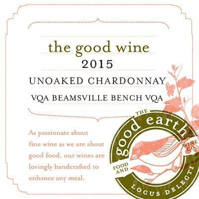 The Good Earth Vineyard and Winery Unoaked Chardonnay