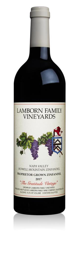 Lamborn Family Vineyards Zinfandel Bottle Preview