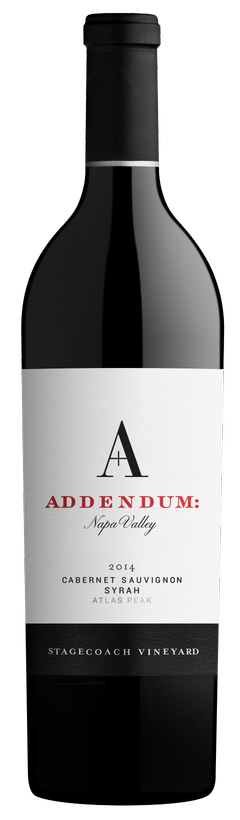 Addendum Addendum- Stagecoach Cabernet Sauvignon-Syrah Bottle Preview