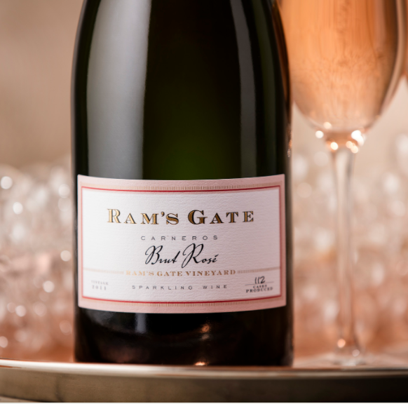 Ram's Gate Winery Estate Sparkling Brut Rose Bottle Preview