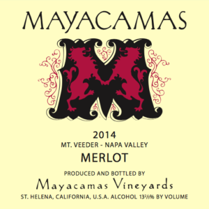 Mayacamas Vineyards Merlot Bottle Preview
