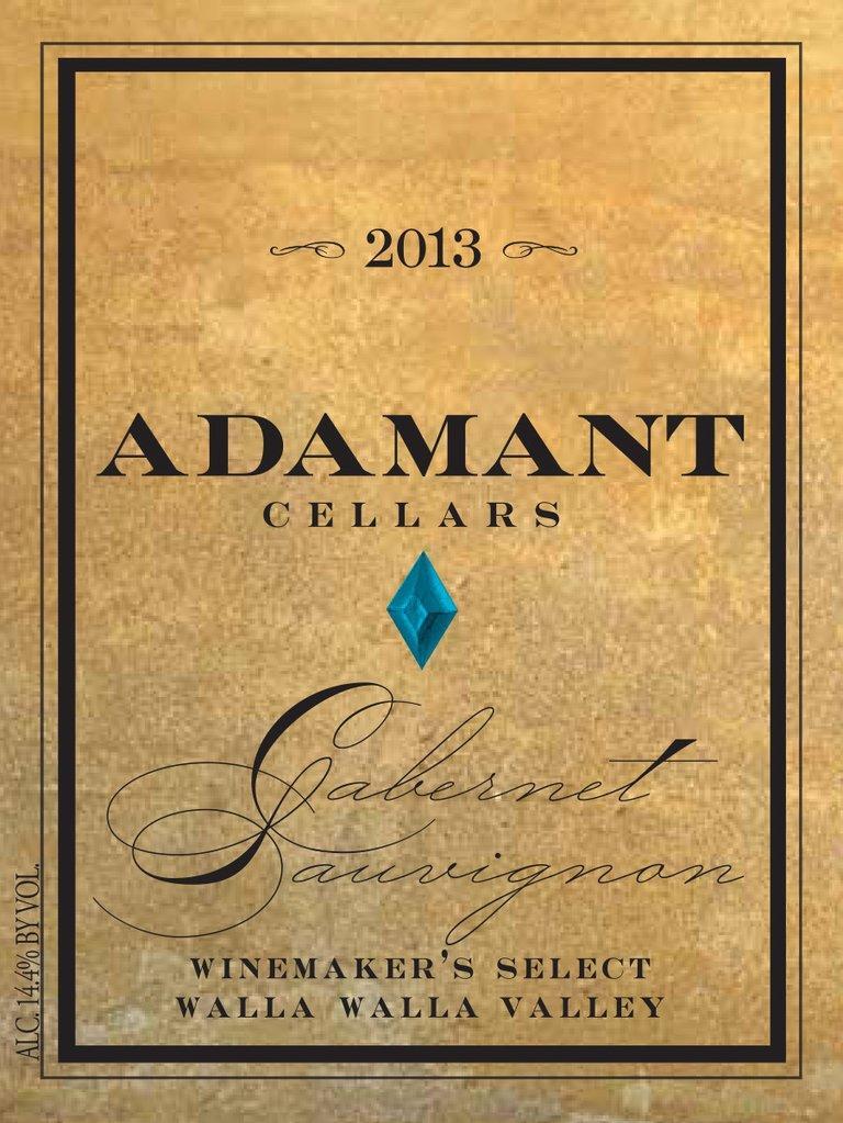 Adamant Cellars Cabernet Sauvignon Bottle Preview