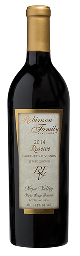 Robinson Family Vineyards Reserve Cabernet Sauvignon Estate Bottle Preview