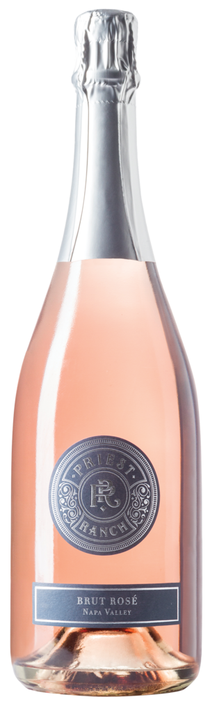 Priest Ranch Winery Brut Rosé Bottle Preview
