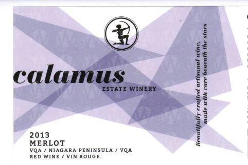 Calamus Estate Winery Merlot