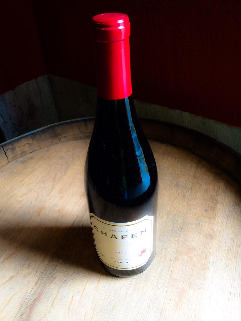 """Dutch Henry Winery """"Chafen Family"""" Estate Reserve Syrah Bottle Preview"""