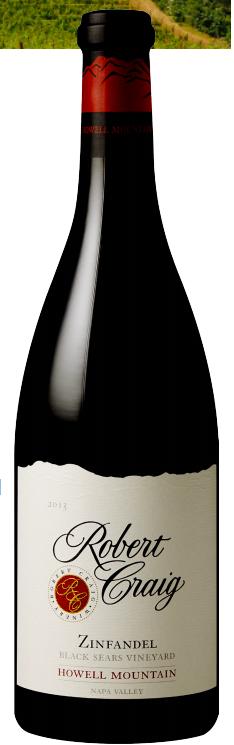 Howell Mountain Zinfandel Bottle