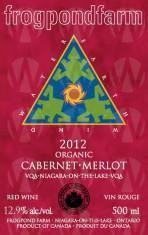 Frogpond Farm Organic Winery Cabernet Merlot