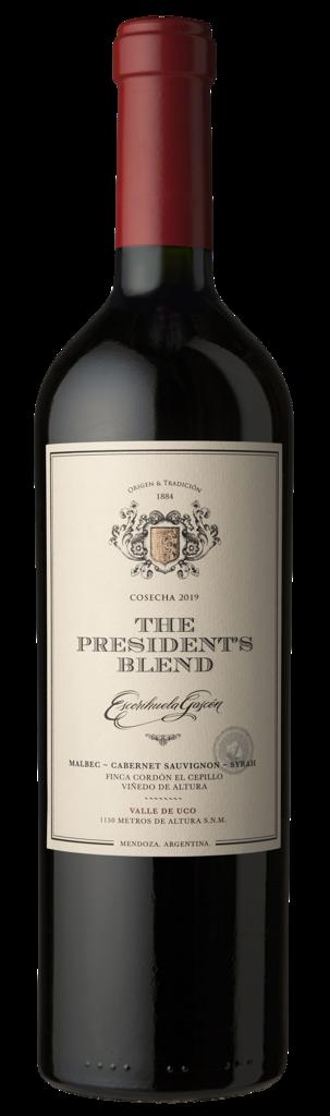 Escorihuela Gascón The President´s Blend Bottle Preview