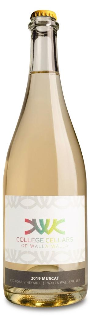 College Cellars of Walla Walla Muscat Bottle Preview