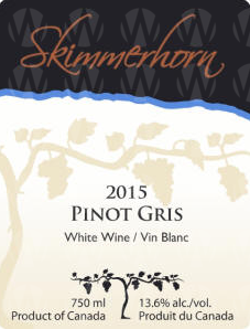 Skimmerhorn Winery & Vineyard Pinot Gris