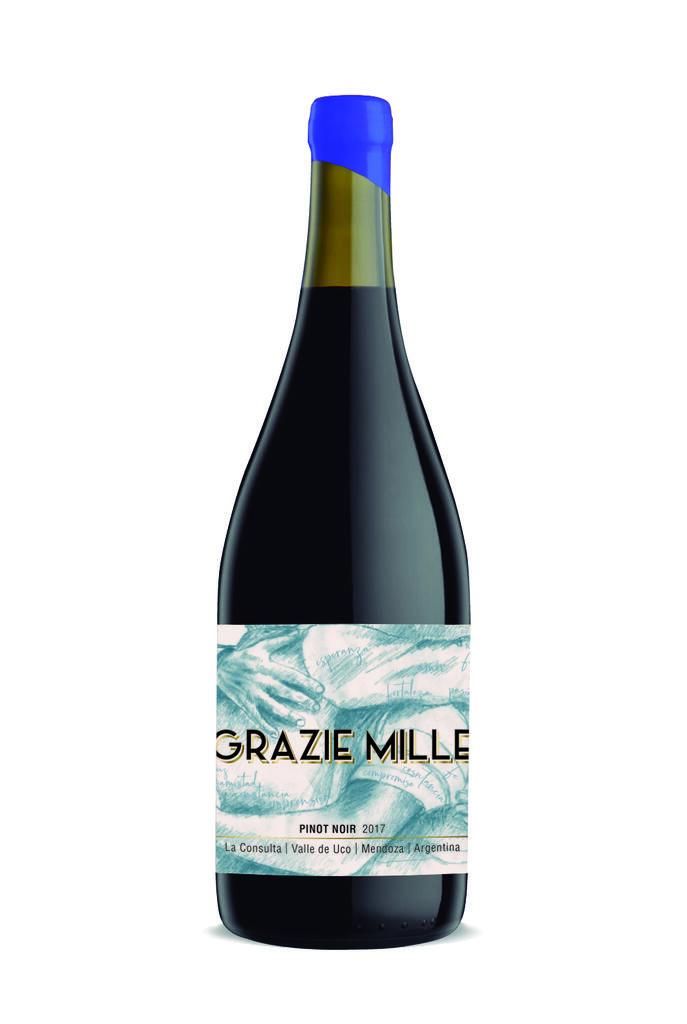 Grazie Mille - Design Wines Linea Design - Pinot Noir Bottle Preview