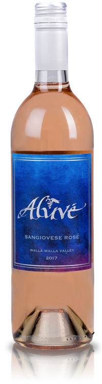 ALUVÉ Sangiovese Rosé Bottle Preview