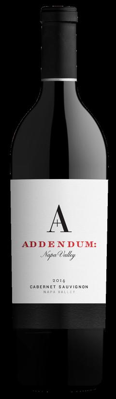 Addendum Addendum- Napa Valley Cabernet Sauvignon Bottle Preview