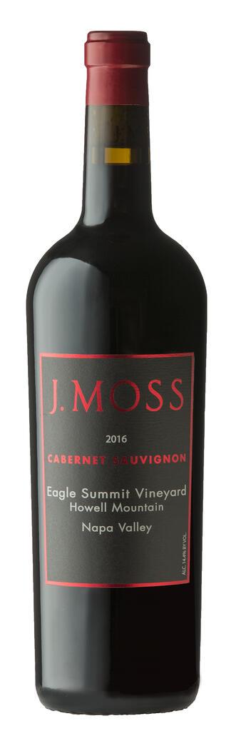 J. Moss 2016 Eagle Summit Vineyard, Howell Mountain Cabernet Sauvignon Bottle Preview