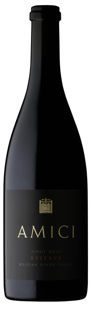 Amici Cellars Amici Pinot Noir Reserve Russian River Valley Bottle Preview