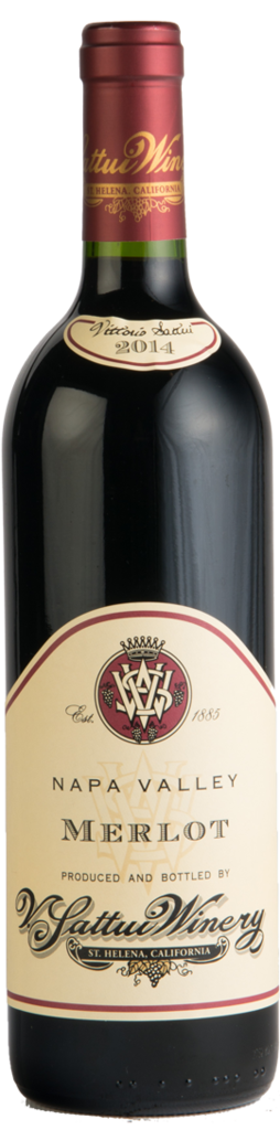 V. Sattui Winery Napa Valley Merlot Bottle Preview
