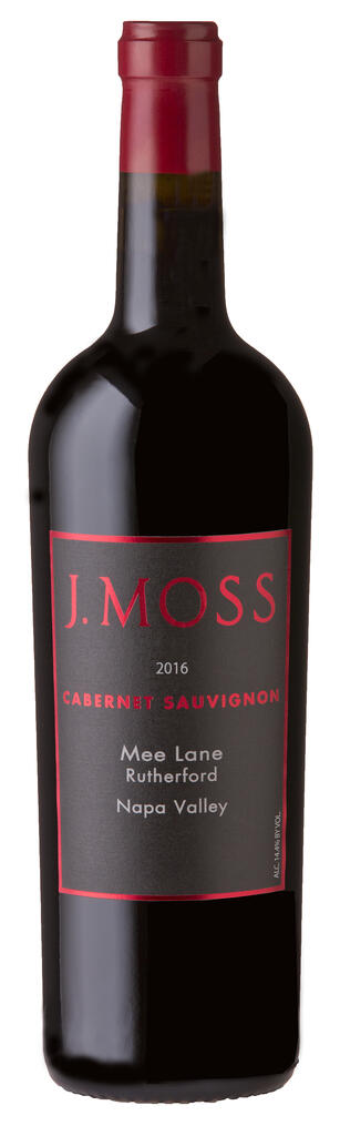 J. Moss 2016 Mee Lane, Rutherford Napa Valley Bottle Preview