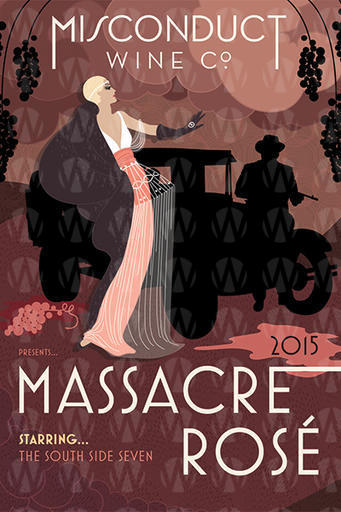 Misconduct Wine Co. Massacre Rose
