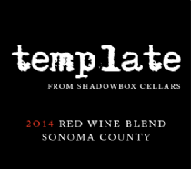 Shadowbox Cellars Template Red Blend Bottle Preview