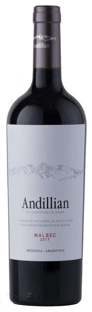 La Coste de Los Andes Andillian Malbec Luján de Cuyo Bottle Preview