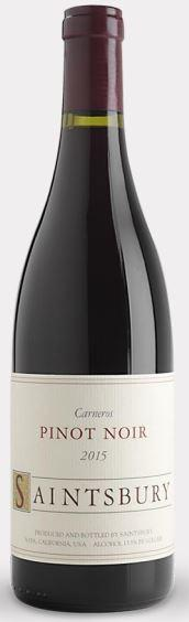 Saintsbury Carneros Pinot Noir Bottle Preview