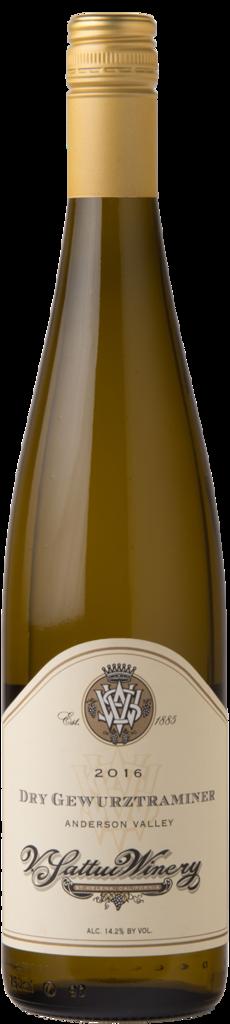 V. Sattui Winery Dry Gewurztraminer Bottle Preview