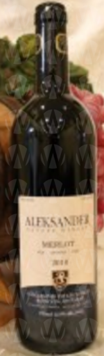Aleksander Estate Winery Merlot