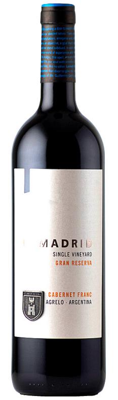 Lamadrid Estate Wines Lamadrid Gran Reserva Cabernet Franc Bottle Preview