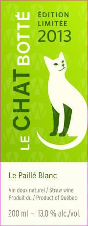 Vignoble Le Chat Botté Le Paillé Blanc Édition Limitée