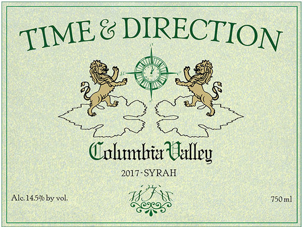 Time & Direction 'Old School' Syrah Bottle Preview