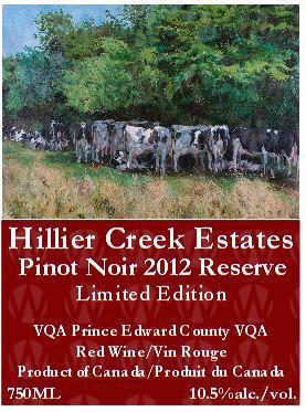 Hillier Creek Estates Pinot Noir Reserve
