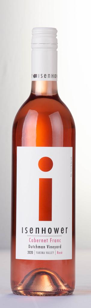 Isenhower Cellars i-Label Cabernet Franc Rose Bottle Preview