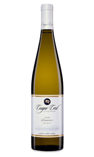 Cougar Crest Estate Winery Riesling Bottle Preview