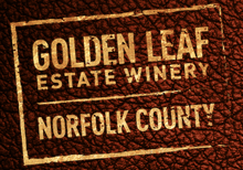 Golden Leaf Estate Winery Logo